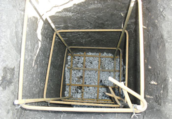 бетонные столбы для фундамента