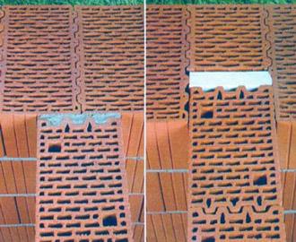 Соединение наружной и внутренней несущих стен
