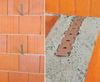 Соединение наружной и внутренней стен